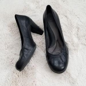 Nurture black Comfort heels